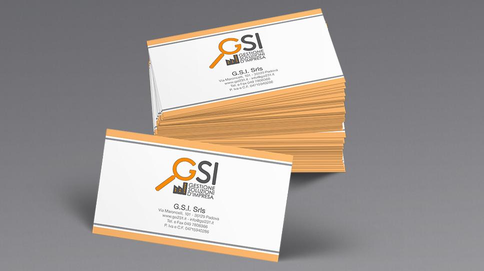 Biglietto da visita G.S.I. Srls