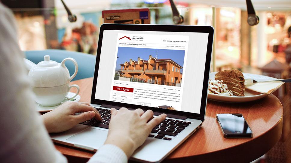 Sito web Immobiliare San Lorenzo