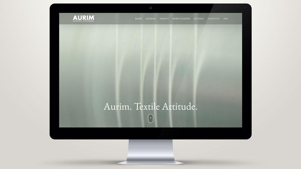 Sviluppo sito web aziendale Padova per Aurim S.p.A.