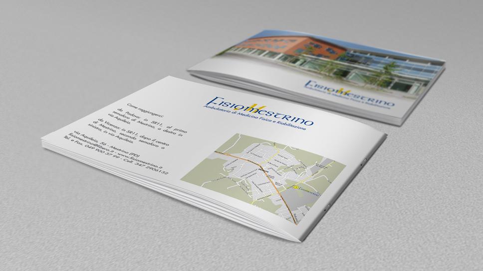 Brochure aziendale Fisiomestrino