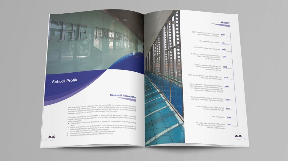 Stampa Brochure Padova EISP