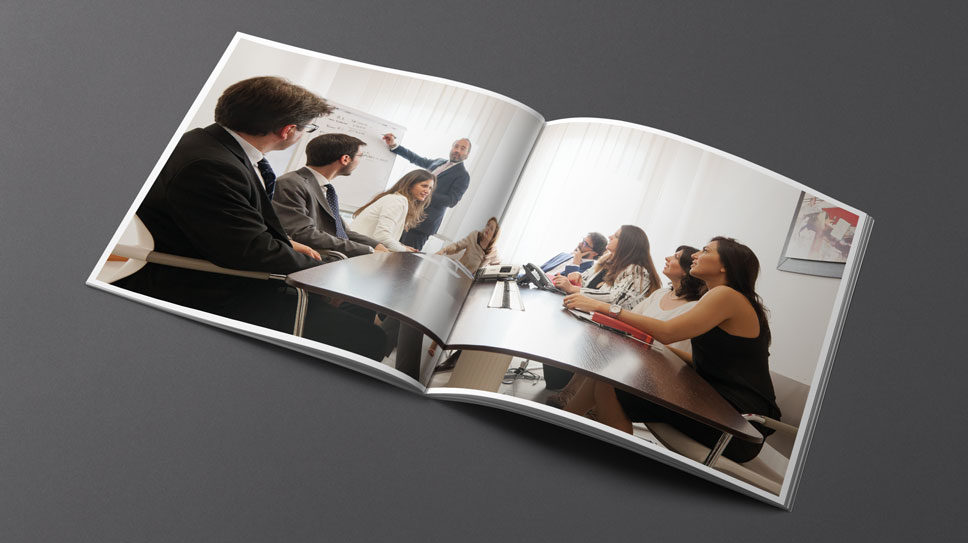 Creazione brochure aziendale a Padova, per Generali Italia