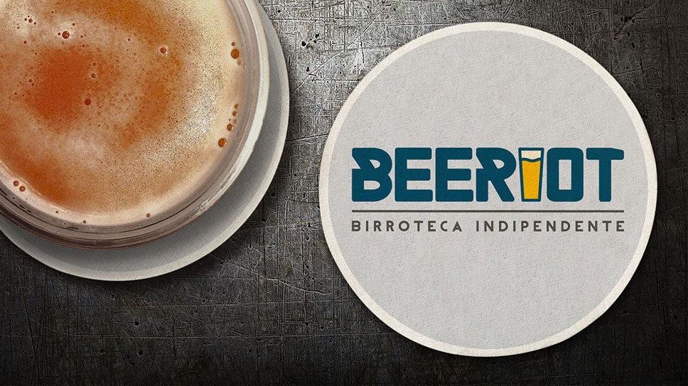 Realizzazione logo a Padova, per la birreria Beeriot
