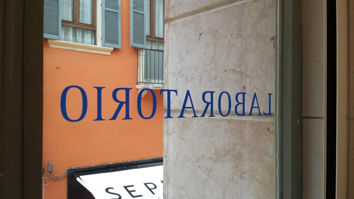 Decorazione vetri Grom Verona